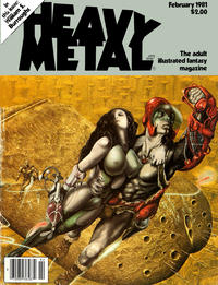 Cover Thumbnail for Heavy Metal Magazine (Heavy Metal, 1977 series) #v4#11 [Newsstand]
