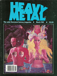 Cover for Heavy Metal Magazine (Heavy Metal, 1977 series) #v4#12 [Direct Sales]