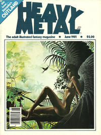Cover for Heavy Metal Magazine (HM Communications, Inc., 1977 series) #v5#3 [Direct Sales]