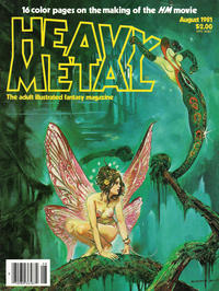 Cover for Heavy Metal Magazine (Heavy Metal, 1977 series) #v5#5 [Direct Sales]