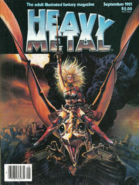 Cover for Heavy Metal Magazine (HM Communications, Inc., 1977 series) #v5#6 [Direct Sales]