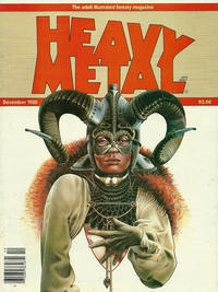 Cover for Heavy Metal Magazine (HM Communications, Inc., 1977 series) #v4#9 [Direct Sales]