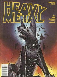 Cover Thumbnail for Heavy Metal Magazine (Heavy Metal, 1977 series) #v4#1 [Newsstand]