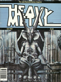 Cover for Heavy Metal Magazine (Heavy Metal, 1977 series) #v4#3 [Direct Sales]