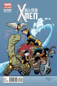 Cover Thumbnail for All-New X-Men (Marvel, 2013 series) #22 [Chris Samnee 'Animal']