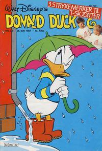Cover Thumbnail for Donald Duck & Co (Hjemmet / Egmont, 1948 series) #22/1987