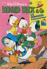 Cover Thumbnail for Donald Duck & Co (Hjemmet / Egmont, 1948 series) #21/1987