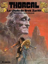 Cover Thumbnail for Thorgal (Le Lombard, 1980 series) #6 - La chute de Brek Zarith