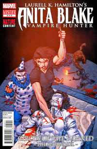 Cover Thumbnail for Anita Blake: Circus of the Damned - The Scoundrel (Marvel, 2011 series) #5