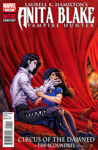 Cover Thumbnail for Anita Blake: Circus of the Damned - The Scoundrel (Marvel, 2011 series) #1