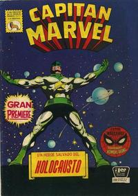 Cover Thumbnail for Capitán Marvel (Editora de Periódicos La Prensa S.C.L., 1968 series) #1