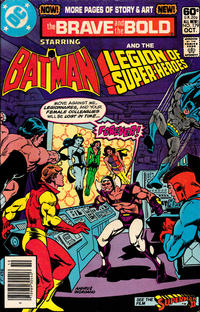 Cover for The Brave and the Bold (DC, 1955 series) #179