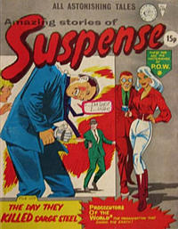 Cover Thumbnail for Amazing Stories of Suspense (Alan Class, 1963 series) #158