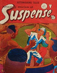 Cover Thumbnail for Amazing Stories of Suspense (Alan Class, 1963 series) #160