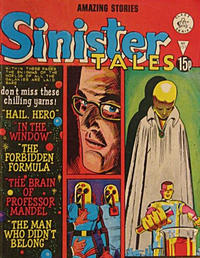 Cover Thumbnail for Sinister Tales (Alan Class, 1964 series) #151