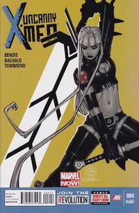 Cover for Uncanny X-Men (Marvel, 2013 series) #4