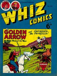 Cover Thumbnail for Whiz Comics (L. Miller & Son, 1950 series) #95