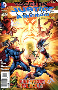 Cover Thumbnail for Justice League of America (DC, 2013 series) #13 [Direct Sales]