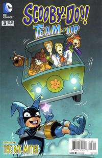 Cover for Scooby-Doo Team-Up (DC, 2014 series) #3 [Newsstand]