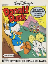 Cover Thumbnail for Walt Disney's Beste Historier om Donald Duck & Co [Disney-Album] (Hjemmet / Egmont, 1978 series) #29 - Til topps med Potifar og andre historier
