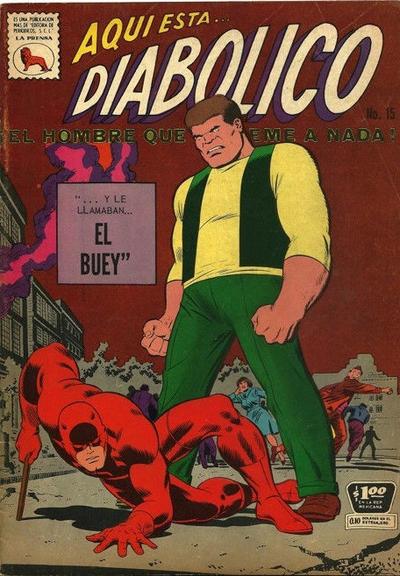 Cover for Diabólico (Editora de Periódicos La Prensa S.C.L., 1966 series) #15