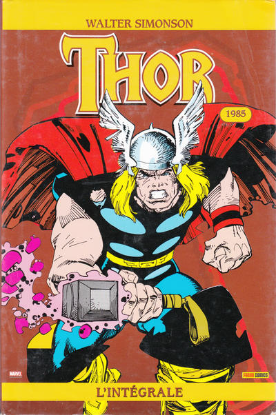 Cover for Thor : l'intégrale (Panini France, 2007 series) #2
