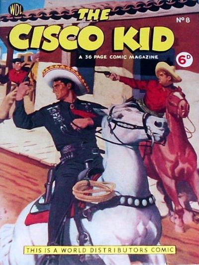 Cover for Cisco Kid (World Distributors, 1952 series) #8