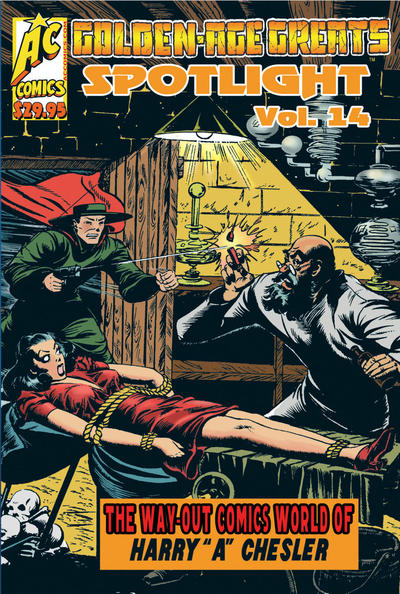 Cover for Golden-Age Greats Spotlight (AC, 2003 series) #14