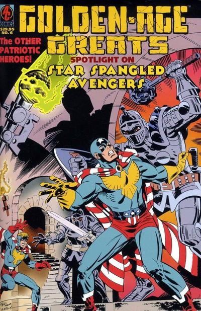 Cover for Golden-Age Greats Spotlight (AC, 2003 series) #6