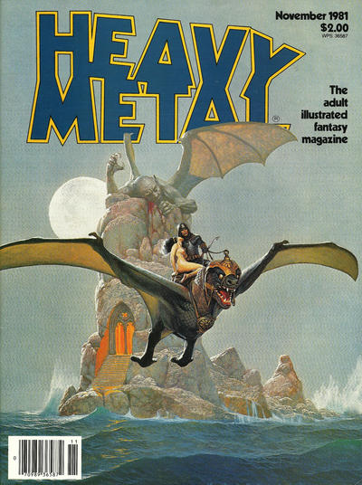 Cover for Heavy Metal Magazine (HM Communications, Inc., 1977 series) #v5#8 [Direct Sales]