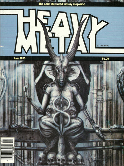 Cover for Heavy Metal Magazine (Heavy Metal, 1977 series) #v4#3 [Newsstand]