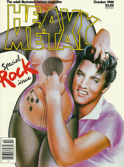 Cover for Heavy Metal Magazine (Heavy Metal, 1977 series) #v4#7 [Direct Sales]