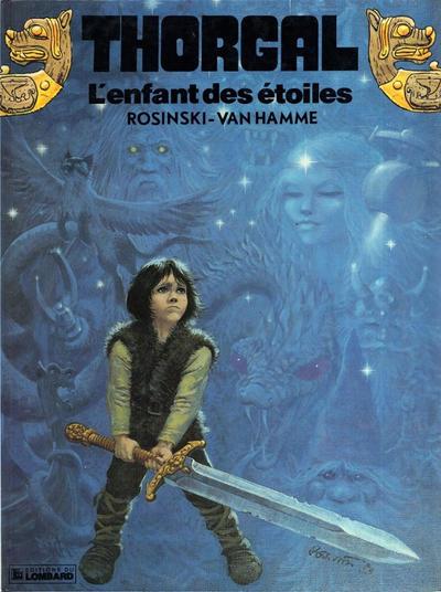 Cover for Thorgal (Le Lombard, 1980 series) #7 - L'enfant des étoiles