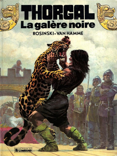 Cover for Thorgal (Le Lombard, 1980 series) #4 - La galère noire