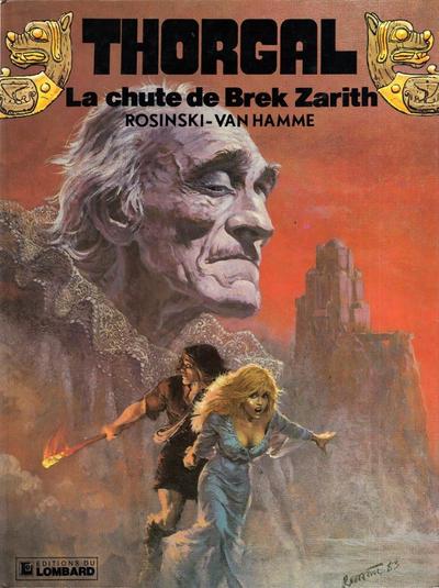 Cover for Thorgal (Le Lombard, 1980 series) #6 - La chute de Brek Zarith
