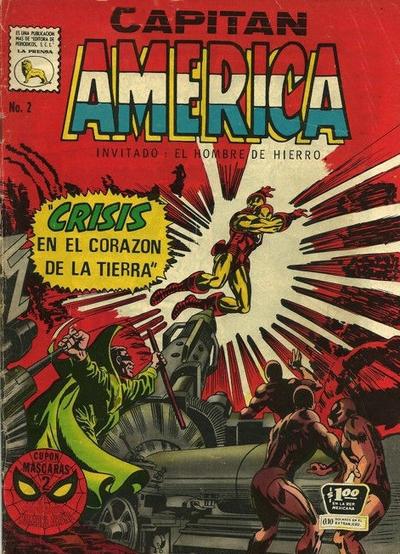 Cover for Capitán América (Editora de Periódicos La Prensa S.C.L., 1968 series) #2