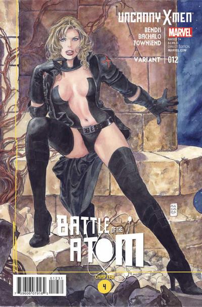 Cover for Uncanny X-Men (Marvel, 2013 series) #12 [Arthur Adams Cover]