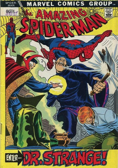Cover for The Amazing Spider-Man (Marvel, 1963 series) #109 [Goodwill Bookstore Variant]
