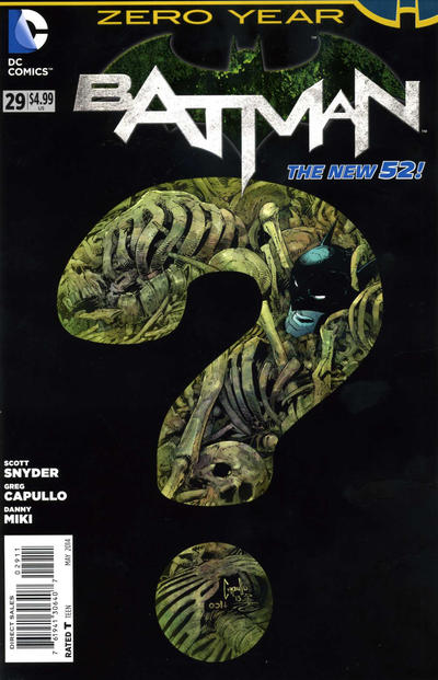 Cover for Batman (DC, 2011 series) #29 [Blank Cover]