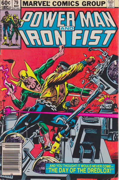 Cover for Power Man and Iron Fist (Marvel, 1981 series) #79 [Direct Edition]