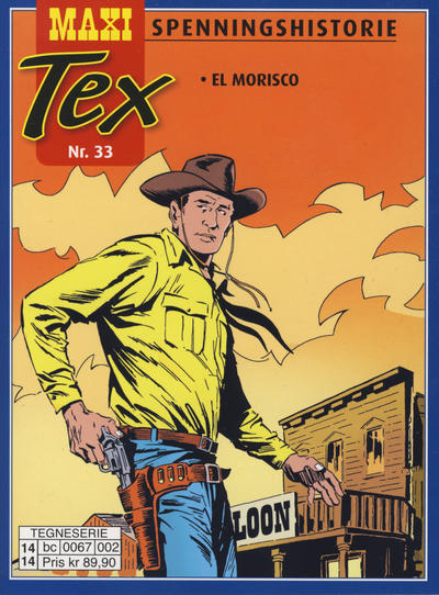 Cover for Maxi Tex (Hjemmet / Egmont, 2008 series) #33