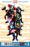 Cover for Uncanny Avengers (Marvel, 2012 series) #1 [Second Printing]