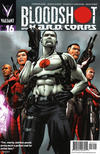 Cover for Bloodshot and H.A.R.D.Corps (Valiant Entertainment, 2013 series) #16 [Cover A - Patrick Zircher]
