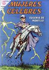 Cover for Mujeres Célebres (Editorial Novaro, 1961 series) #42