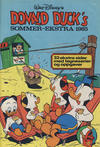 Cover for Donald Duck & Co Ekstra [Bilag til Donald Duck & Co] (Hjemmet / Egmont, 1985 series) #sommer 1985