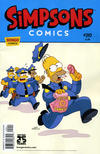 Cover for Simpsons Comics (Bongo, 1993 series) #210