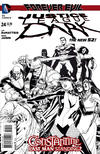 Cover Thumbnail for Justice League Dark (2011 series) #24 [Mikel Janin Black & White Cover]