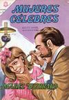Cover for Mujeres Célebres (Editorial Novaro, 1961 series) #48 [Edición española]