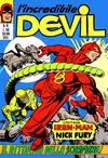 Cover for L'Incredibile Devil (Editoriale Corno, 1970 series) #81