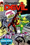 Cover for L'Incredibile Devil (Editoriale Corno, 1970 series) #88